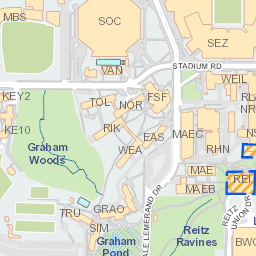 UF Campus Map - Map images