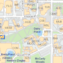 university of florida map pdf